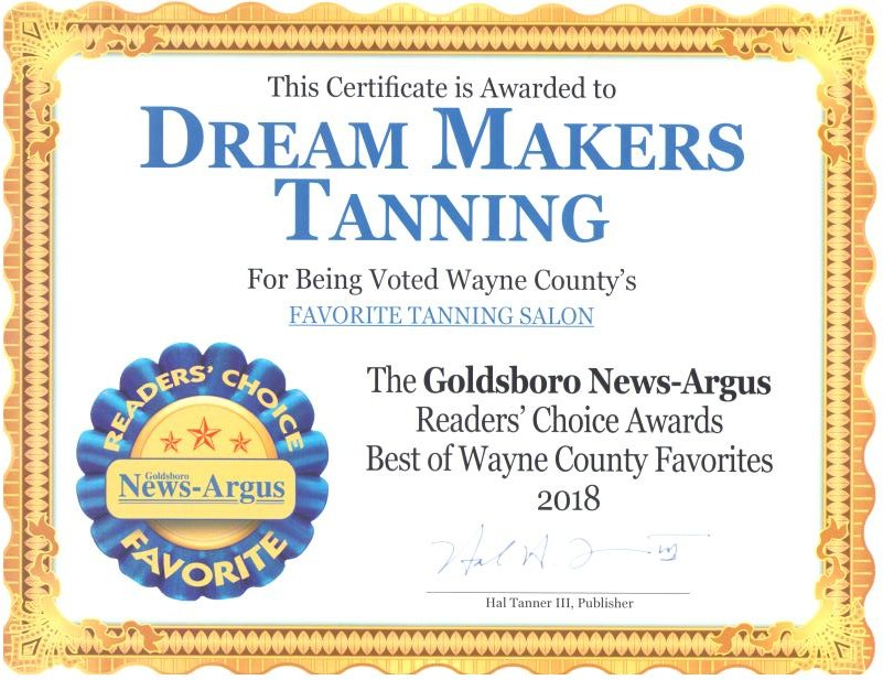 Tanning Salon, Tanning Lotion | Dream Makers Tanning