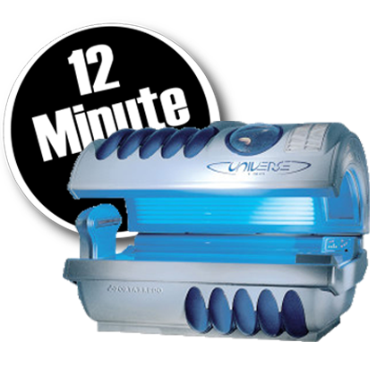 tanning bed 12 minute