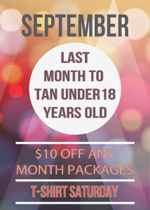 dream makers tanning specials